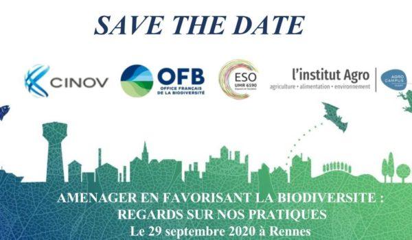 [Agenda] Aménager en favorisant la biodiversité : regards sur nos pratiques