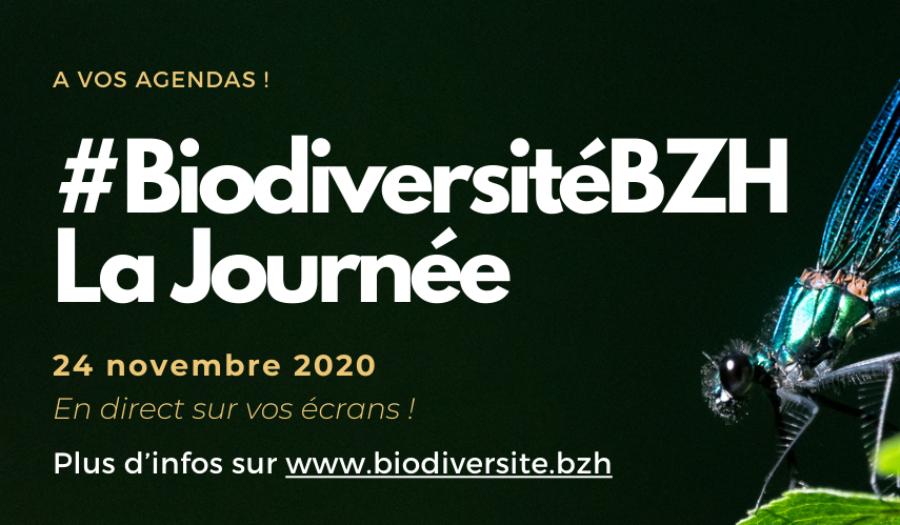 [Agenda] #BiodiversitéBZH La Journée le 24 novembre