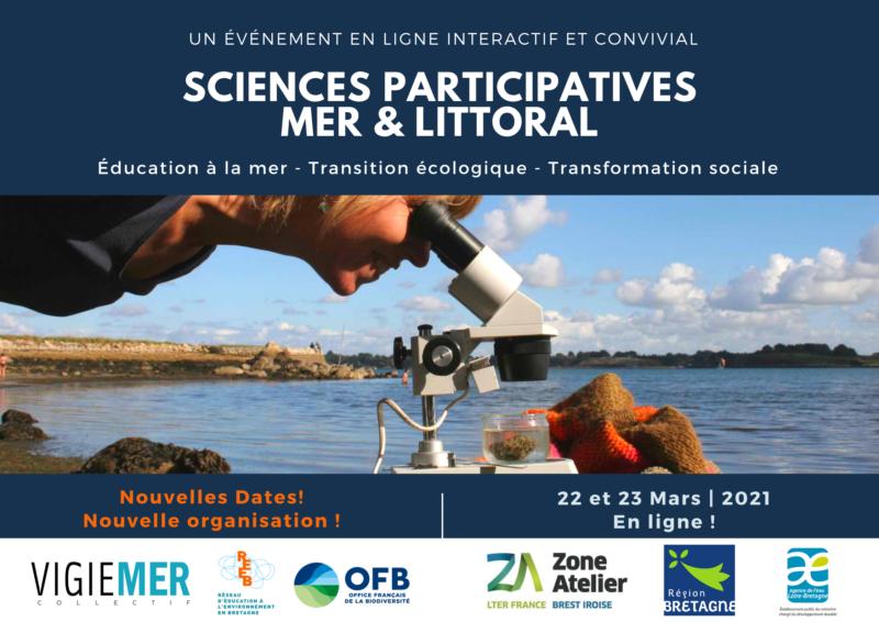Restitution des Journées Sciences Participatives mer et littoral 22 & 23/06/2021