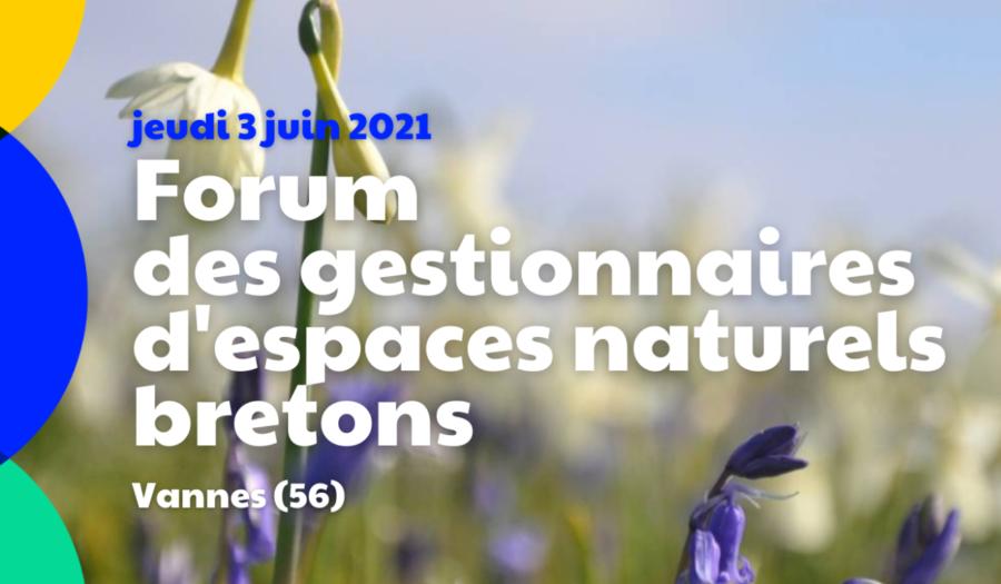 3 juin 2021 : Forum des gestionnaires d'espaces naturels bretons