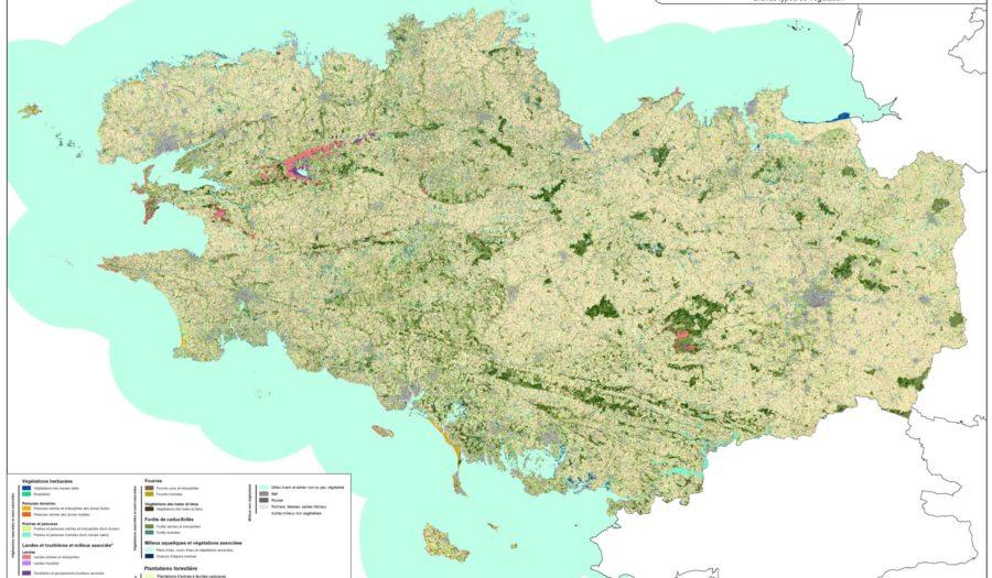La cartographie des grands types de végétation : un outil de base pour la Bretagne
