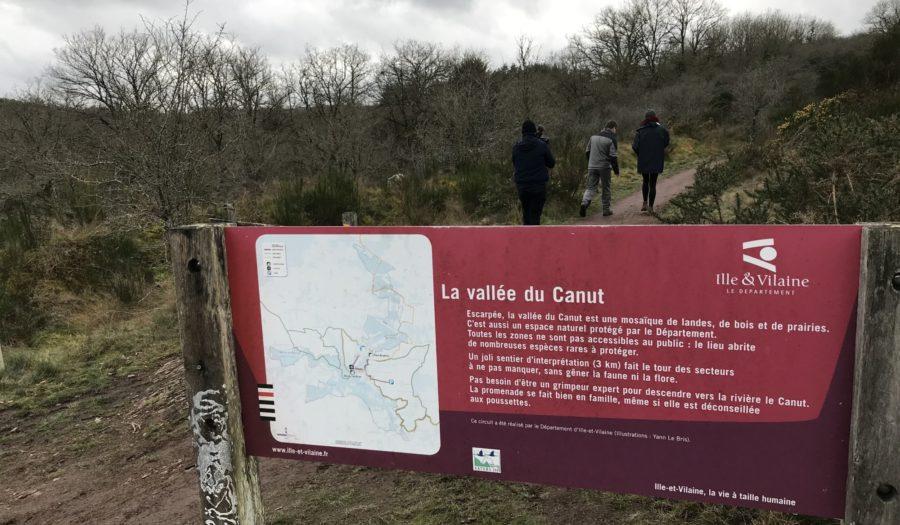 La carte des espaces naturels sensibles en Ille-et-Vilaine